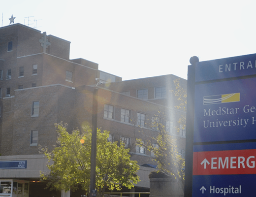 medstar georgetown hospital washington dc