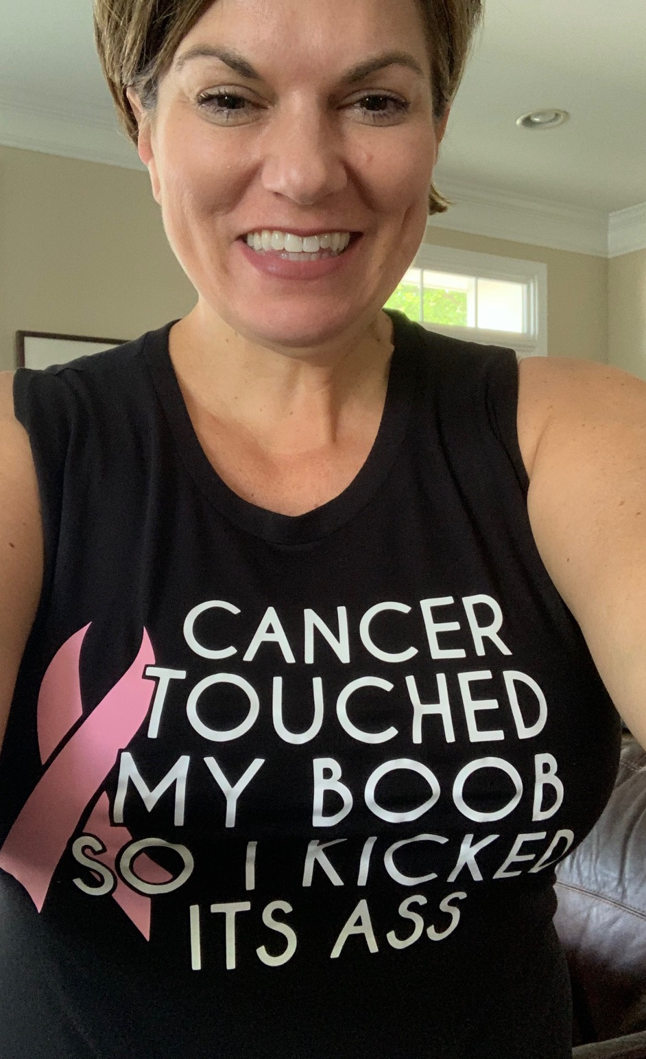 six weeks after mastectomy surgery